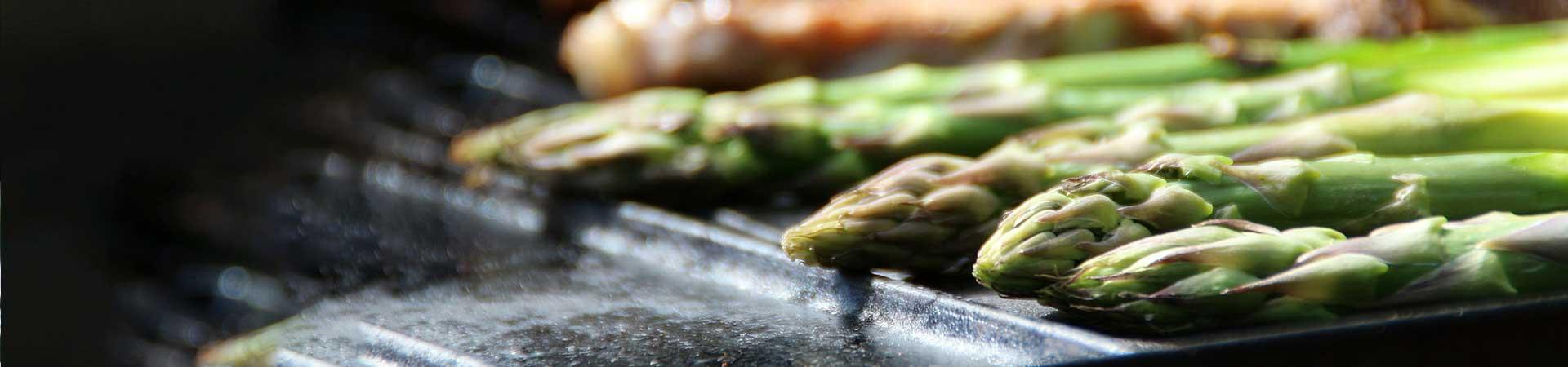 kamado express grill vegetables