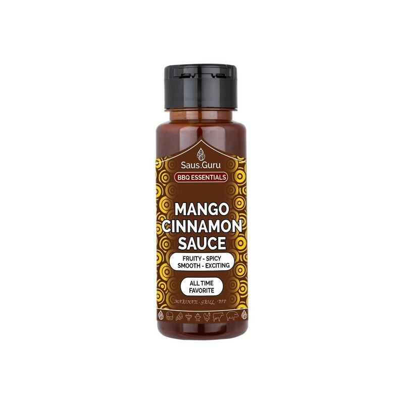 Saus.Guru Mango Cinnamon 500 Ml
