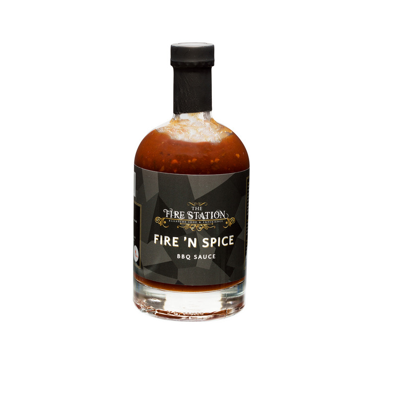The Fire Station Fire 'n Spice BBQ Sauce 500ml
