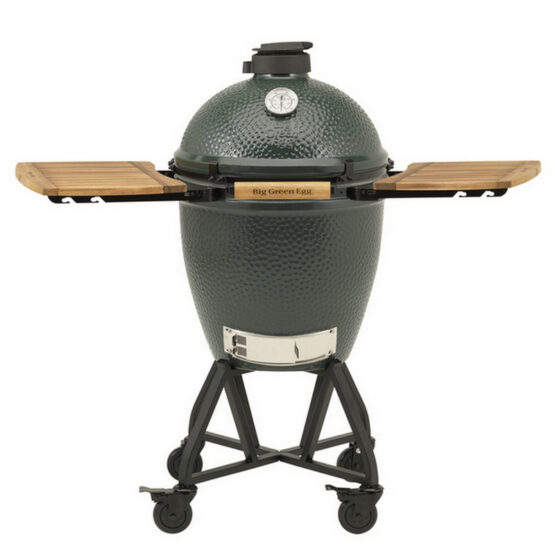 Big Green Egg Large IntEGGrated Nest+Handler + Zijtafels