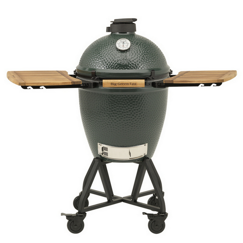 Big Green Egg Medium Met IntEGGrated Nest Handler + Zijtafels