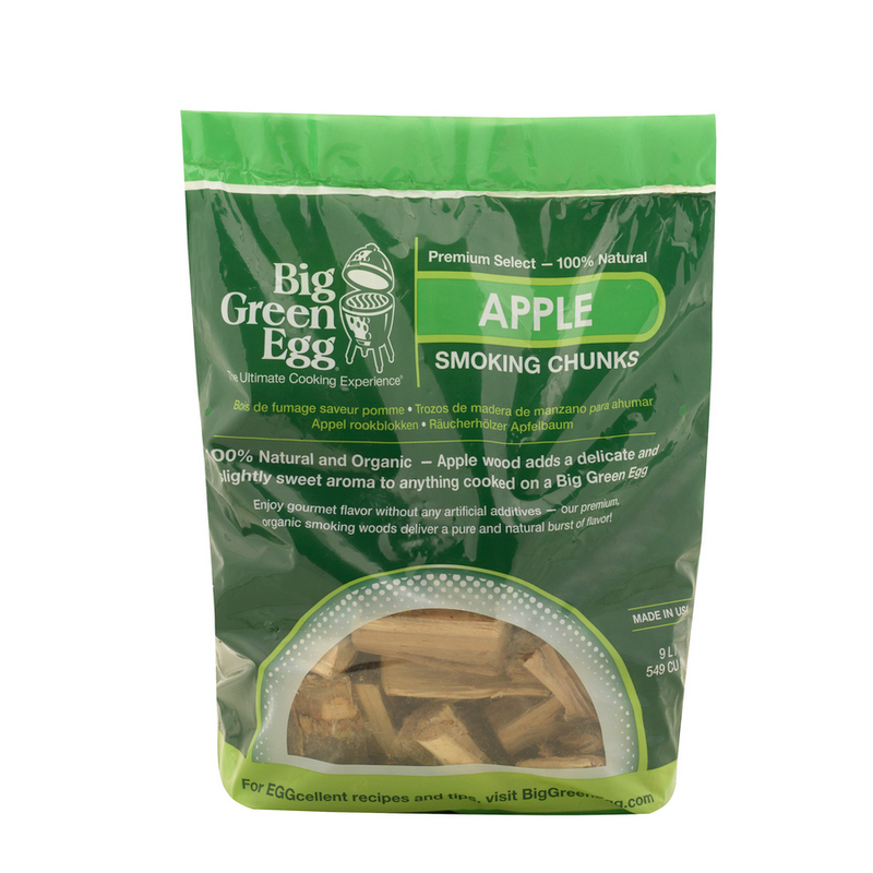 Big Green Egg Chunks Appel