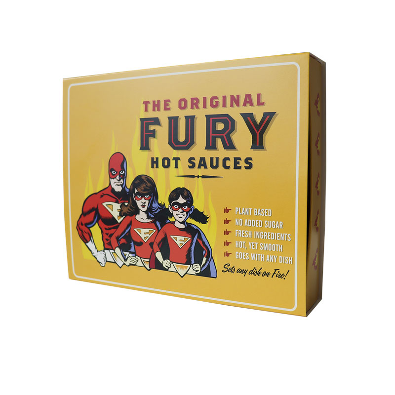 Fury Hot Sauces Giftpack