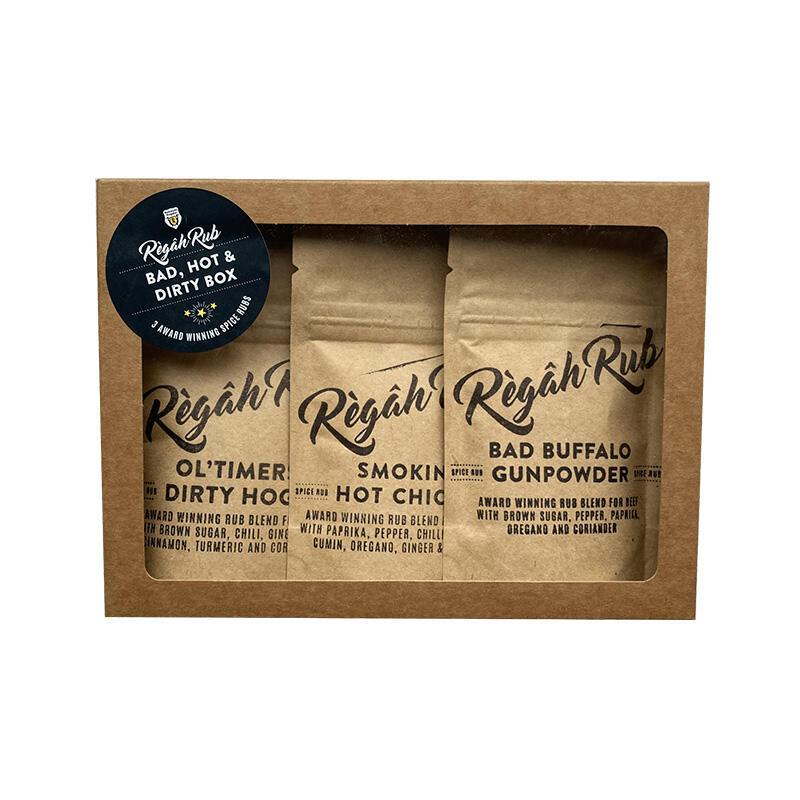 Règâh Rub Bad, Hot & Dirty Box