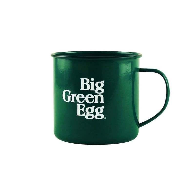 Big Green Egg Emaille Mok
