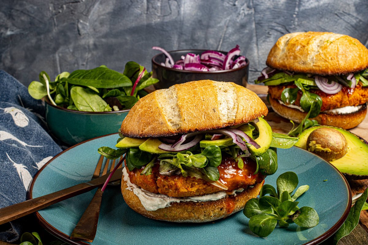 beste vega burger recept