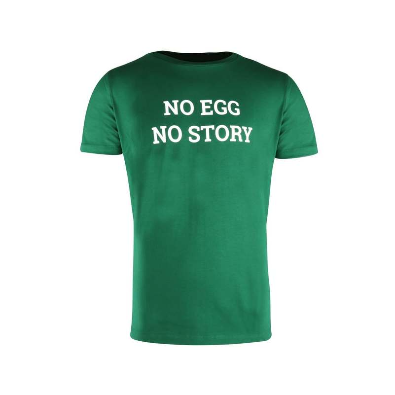 "T-shirt ""No Egg No Story"" Big Green Egg"