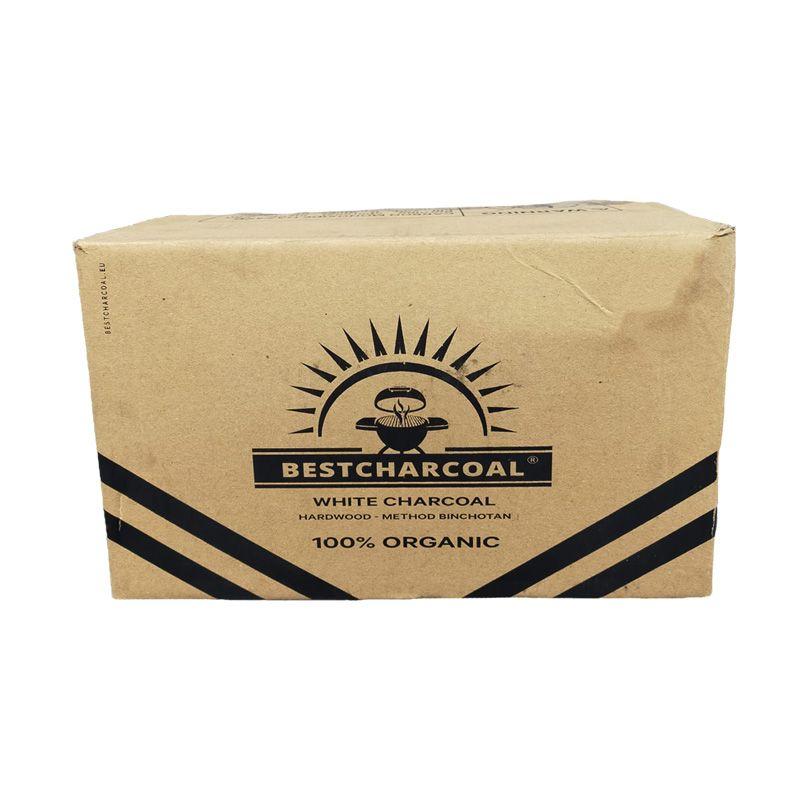 BestCharcoal Witte Binchotan – 7,5 Kg