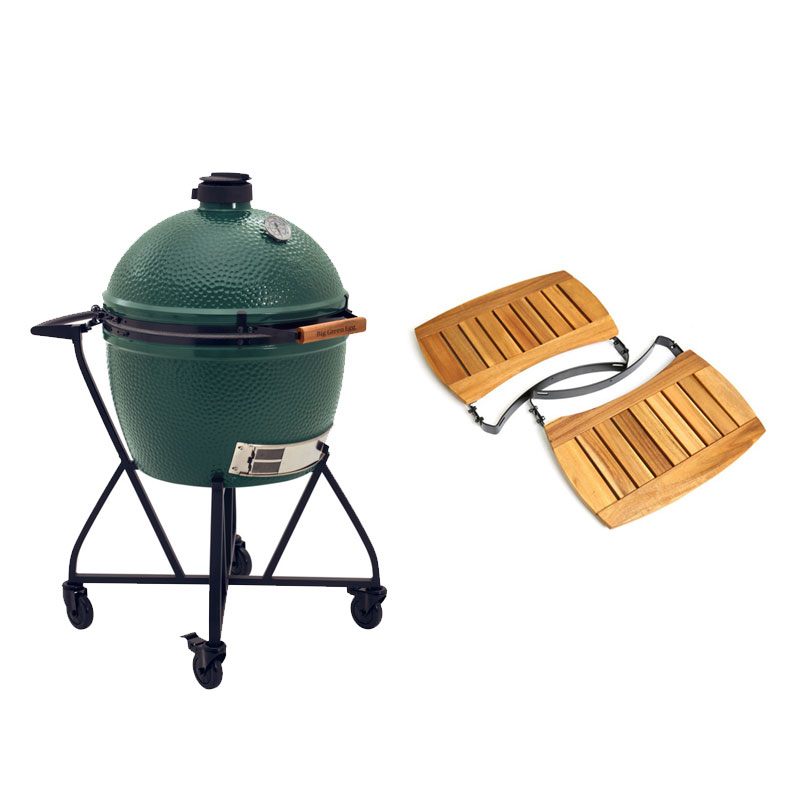 Big Green Egg XL Met IntEGGrated Nest Handler +Zijtafels