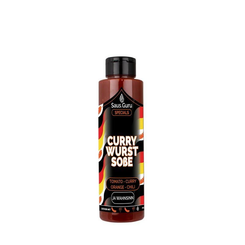 Saus.Guru Currywurst Soße 500 Ml