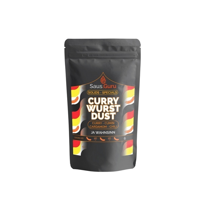 Saus.Guru Solids – Culinairy Specials – Curry Dust 160 Gr