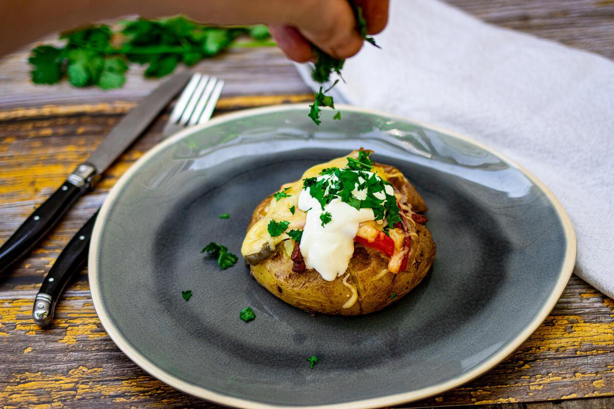 gevulde aardappel recept