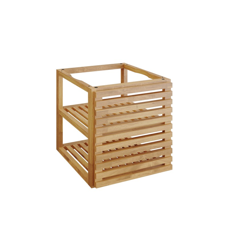 OFYR Storage Insert PRO Met 1 Deur Teak Hout Small