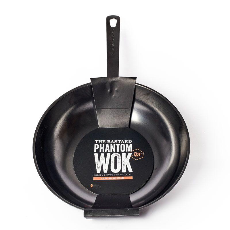 The Bastard Phantom Wok – Carbon Steel
